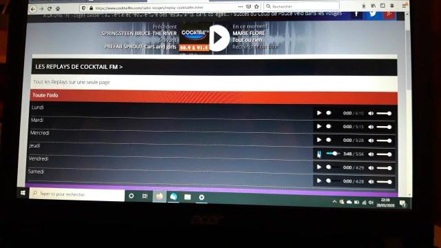 Cocktail FM 28 mai 2020