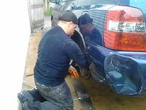 mobile mechanic nick nave repairing brake drum in racine wisconsin,nicholas galdine,nick galdine,nicky galdine,nick galdine II