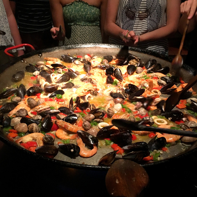 Paella Cooking Class, Barcelona, Spain