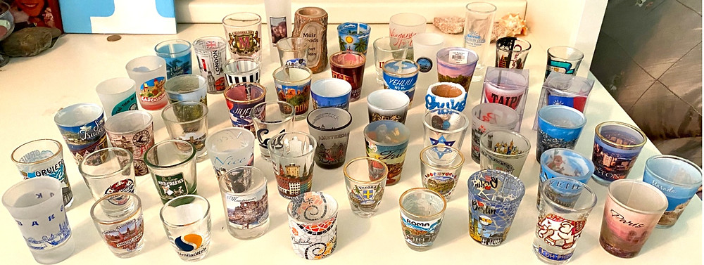 My shot glass collection