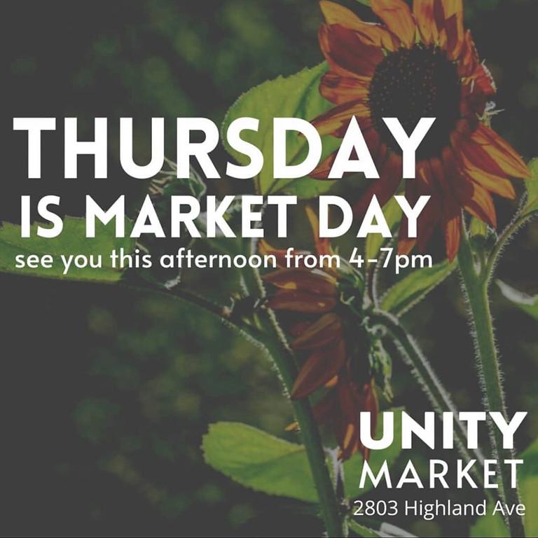 Unity Farmers Market- 6/17