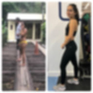 weight loss before after transformation