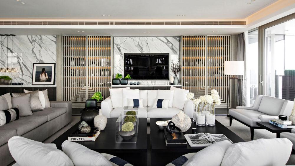 Kelly Hoppen optical livingroom.