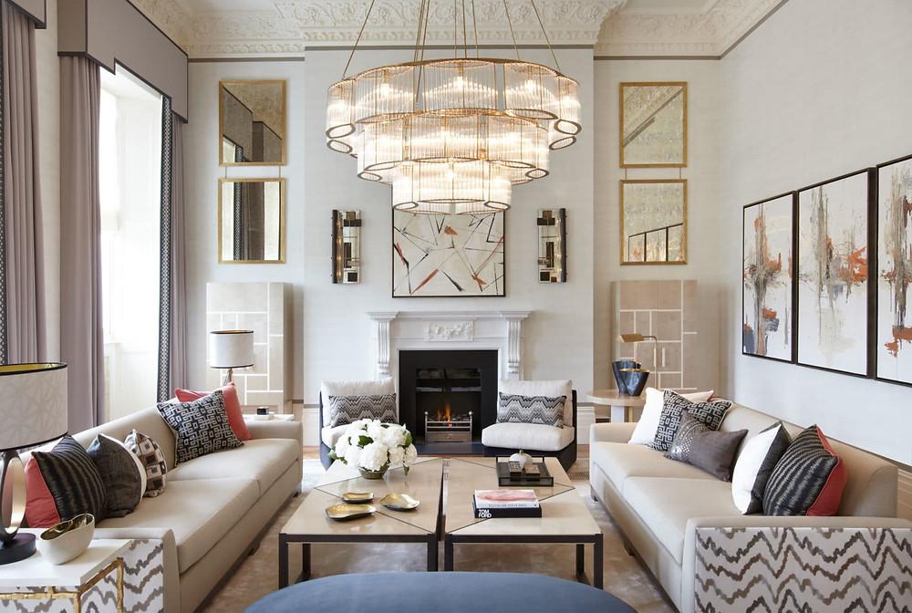 Helen Green eclectic livingroom.