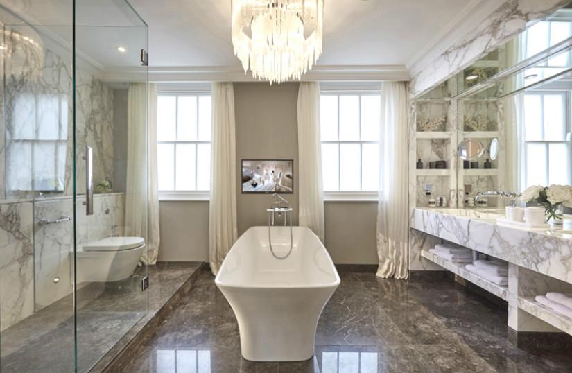 Sala da bagno in marmo