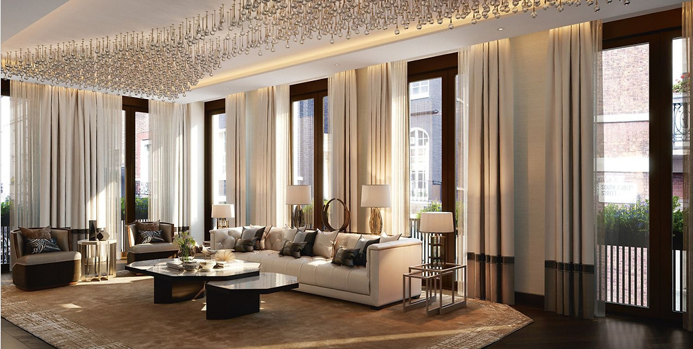 Luxury livingroom.