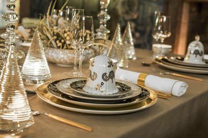 LUXURY CHRISTMAS TABLE SETTING IDEAS
