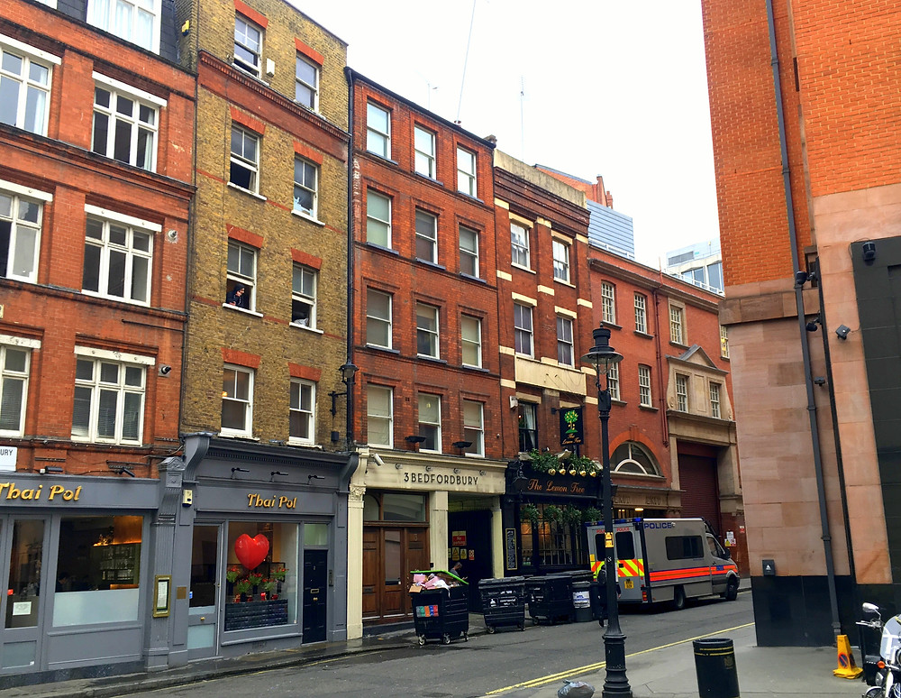 4 units in Covent Garden, London
