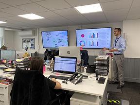 Matt explains our latest intergration of PropTech to team AM.