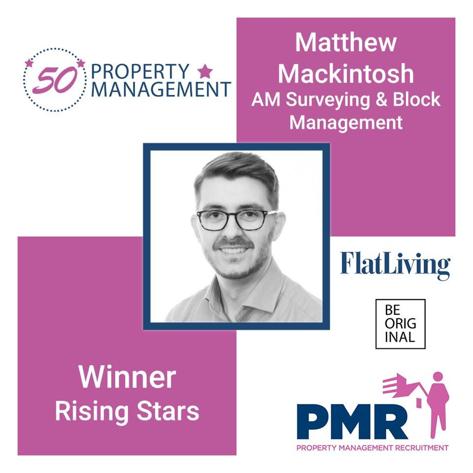 Matt Mackintosh Rising Star PM50 Winner