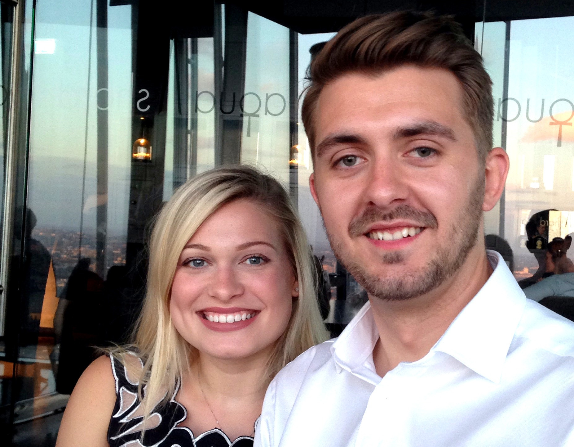 Matthew Mackintosh, Company Director and Property Manager with wife Paris enjoying some time away from the office.