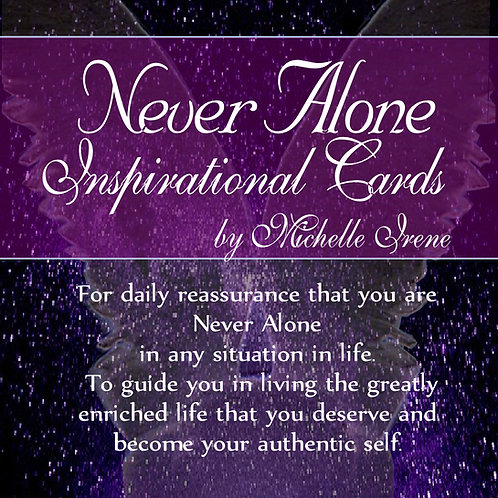Never Alone Inspiration Cards by Michelle Irene