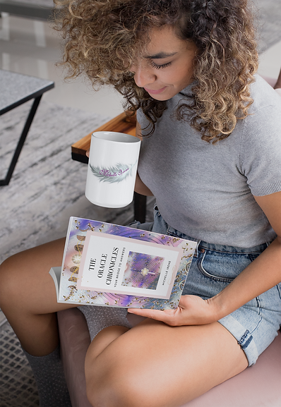 mockup-of-a-woman-reading-a-book-and-hol