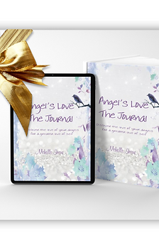 Angel's Love The Interactive Digital Journal & Physical Journal Bundle