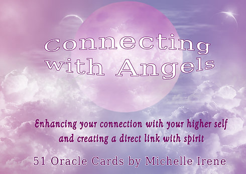 Connecting with Angels Oracle Cards by Michelle Irene