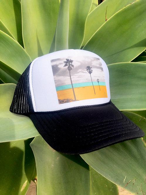 3 Palm Beach Trucker Hat