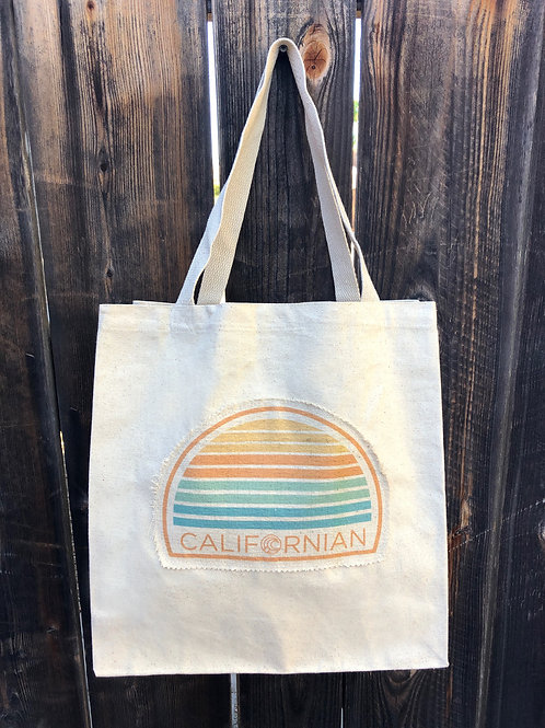 Coastal Canvas Tote - Californian