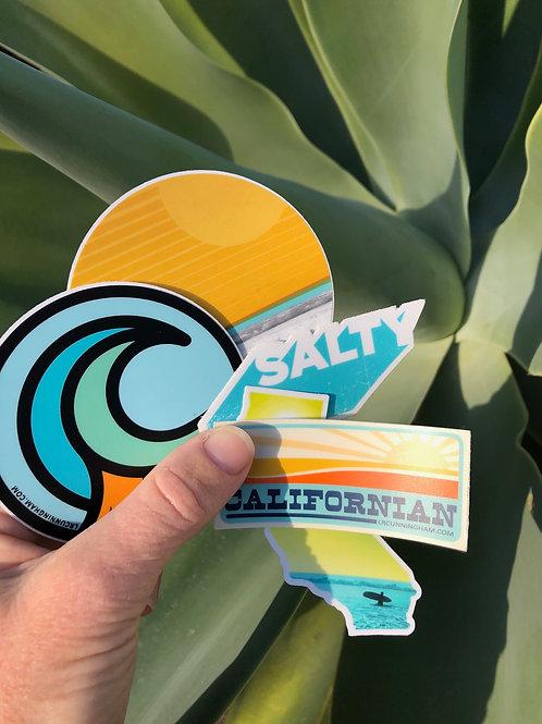 5-pack, Vinyl Sticker Collection #2