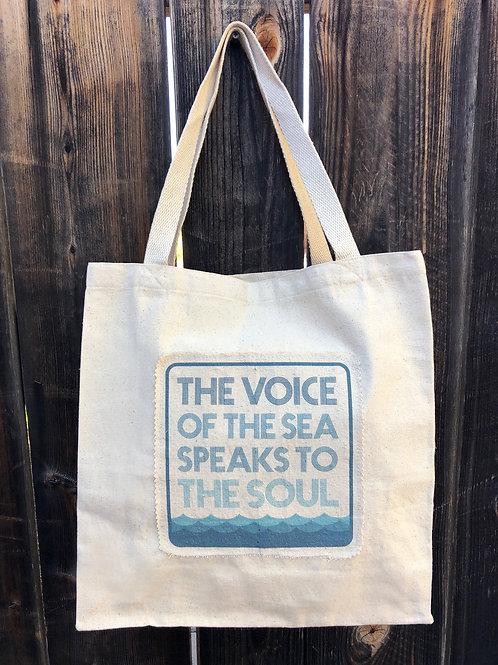 Coastal Canvas Tote- The Voice Of The Sea