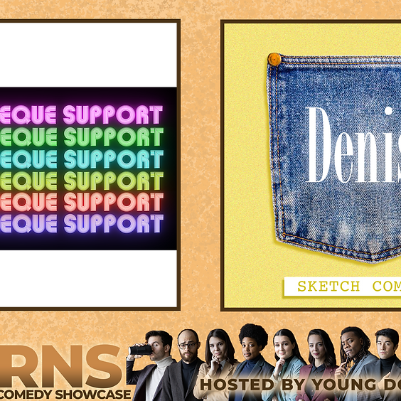 Acorns: A Sketch Comedy Showcase (with Discotheque Support & Denise!)