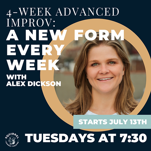 4-Week Workshop: A New Form Every Week with Alex Dickson