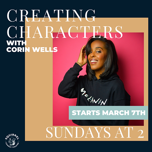 Creating Characters with Corin Wells