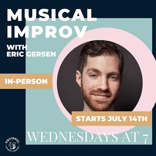 IRL: MUSICAL IMPROV WITH ERIC GERSEN