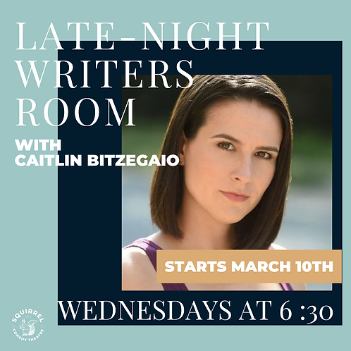 Late-Night Writers Room with Caitlin Bitzegaio