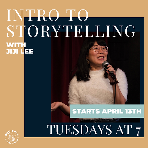 Intro to Storytelling with JiJi Lee