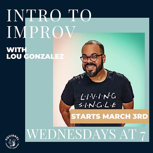 Intro to Improv With Lou Gonzalez