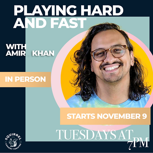 PLAYING HARD AND FAST w/ AMIR KHAN