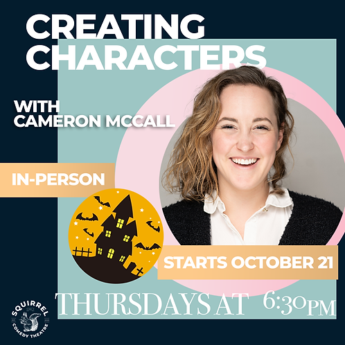IRL: Creating Characters with Cameron McCall