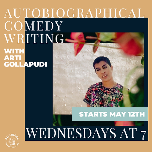 Autobiographical Comedy Writing with Arti Gollapudi