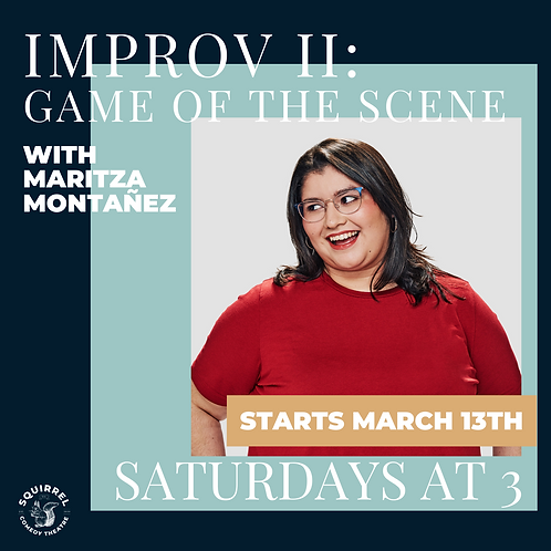 Improv II: The Game of the Scene