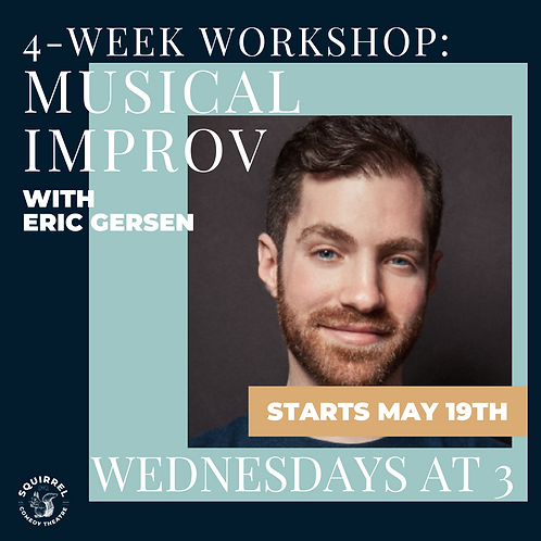 4-Week Workshop: Musical Improv