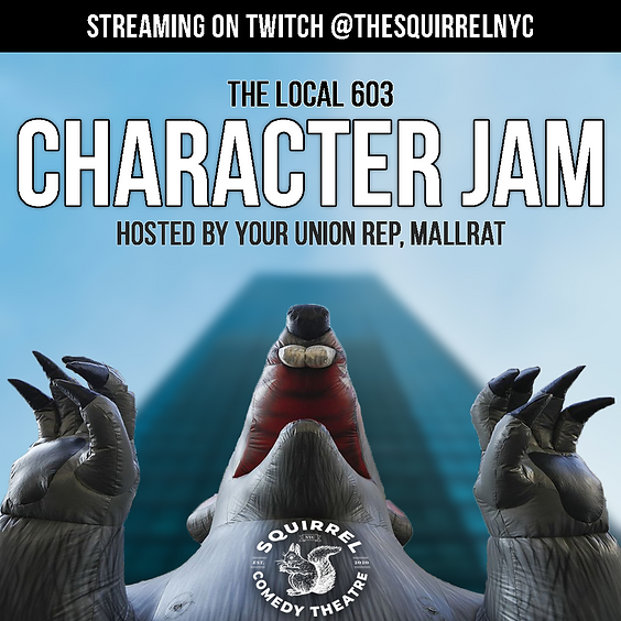The Local 603 Character Jam hosted by Mallrat