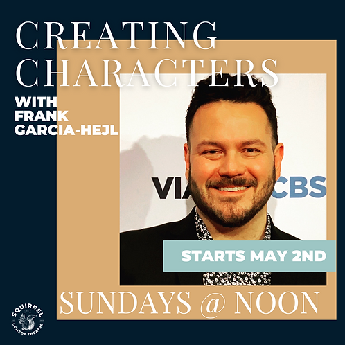 Creating Characters with Frank Garcia-Hejl