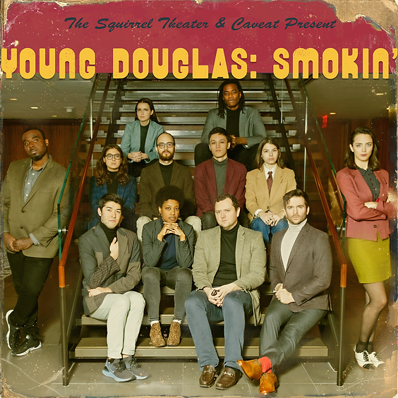Young Douglas: Smokin'