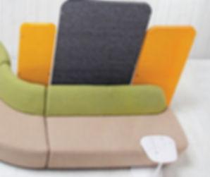sillones con variedad de configuraciones