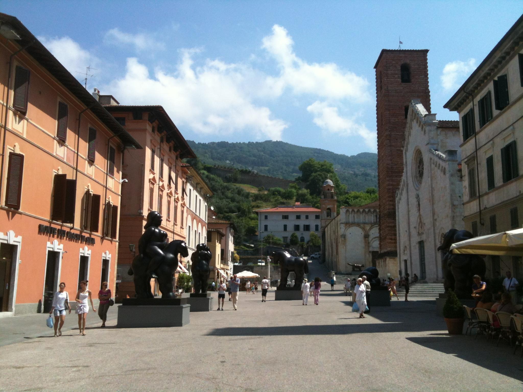 Het pittoresque Pietrasanta