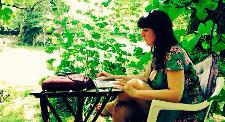 Schrijven onder een vijgenboom