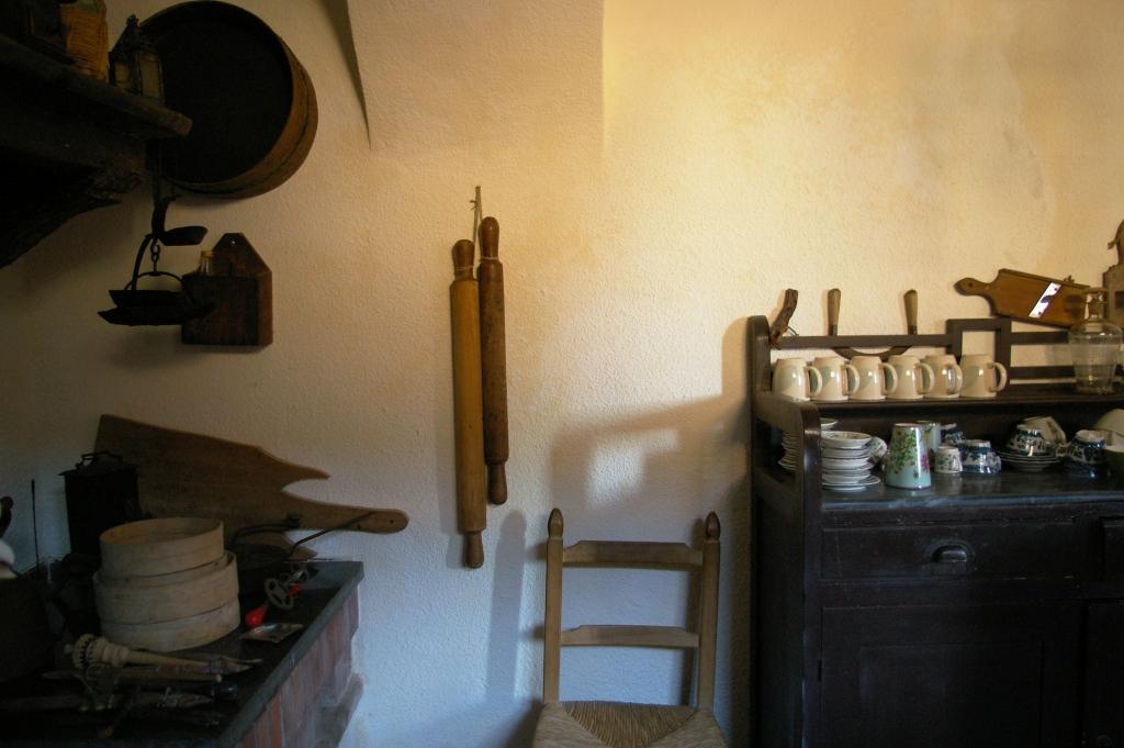 Detail oude keuken