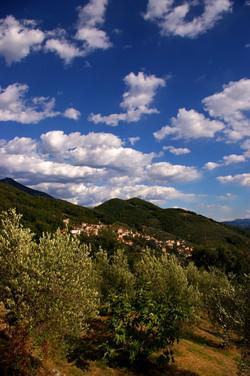 Uitzicht op Capezzano