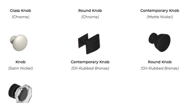 Knob Styles