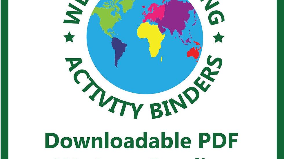 PRINTABLES We Love Activity Binder