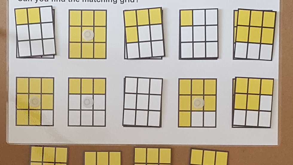 Matching Grids Activity Page