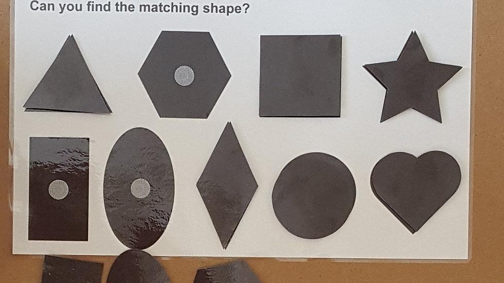 Matching Black Shapes