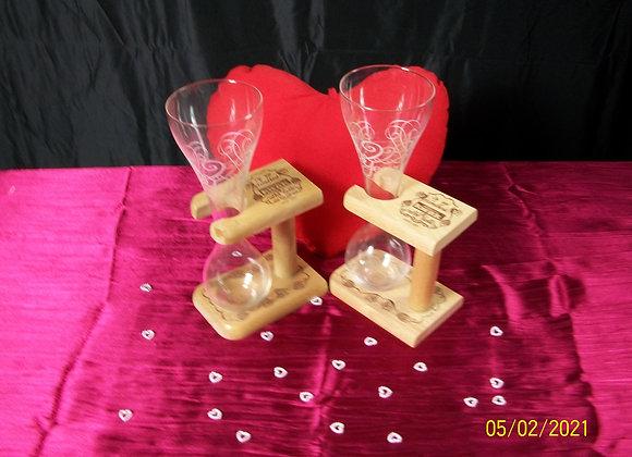 Lot de 2 verres Kwak limited 222 edition