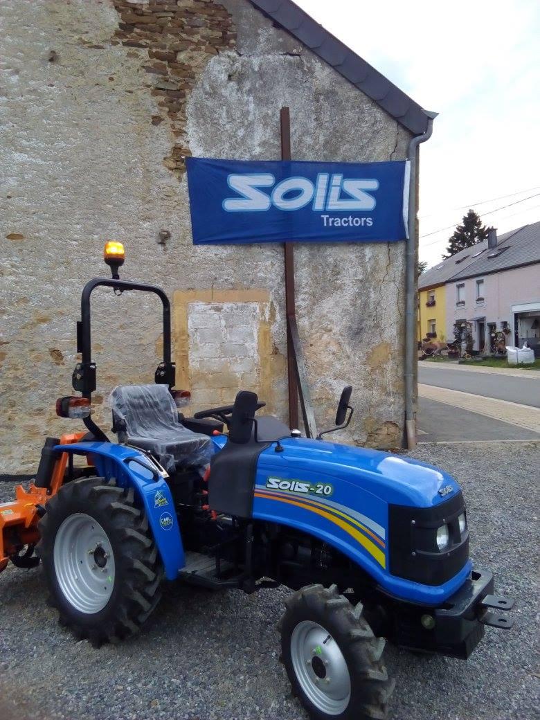 Tracteur SOLIS