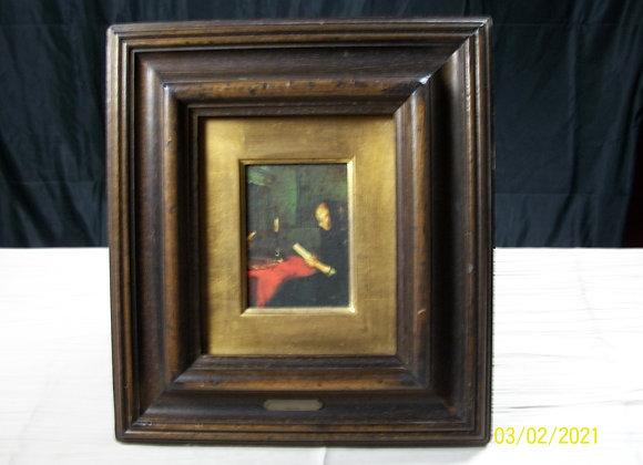 lot 3 petits tableaux reproduction Rembrandt
